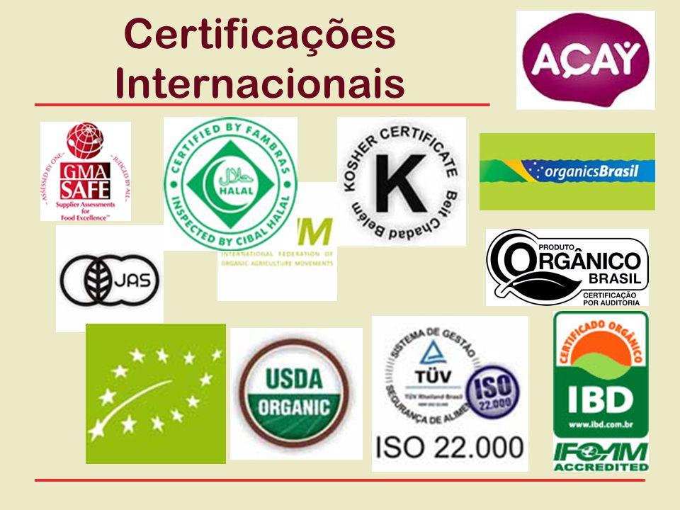 Certificações Internacionais