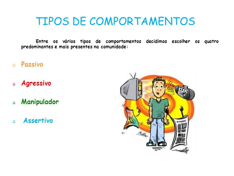 TIPOS DE COMPORTAMENTOS