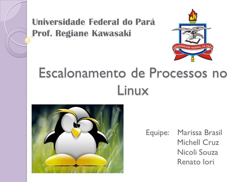 Escalonamento de Processos no Linux