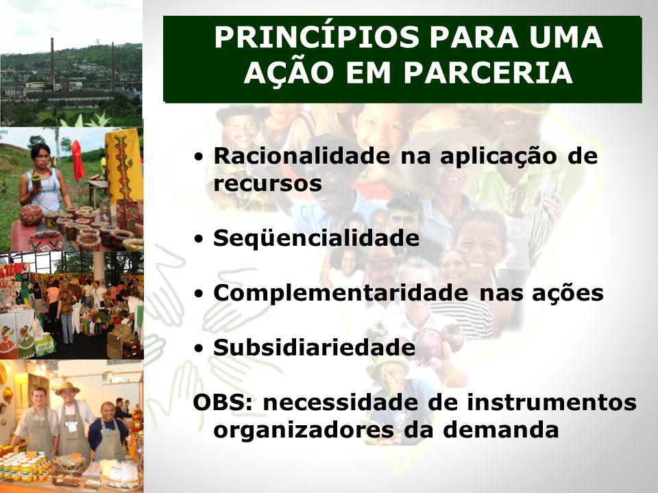 PRINCÍPIOS PARA UMA AÇÃO EM PARCERIA