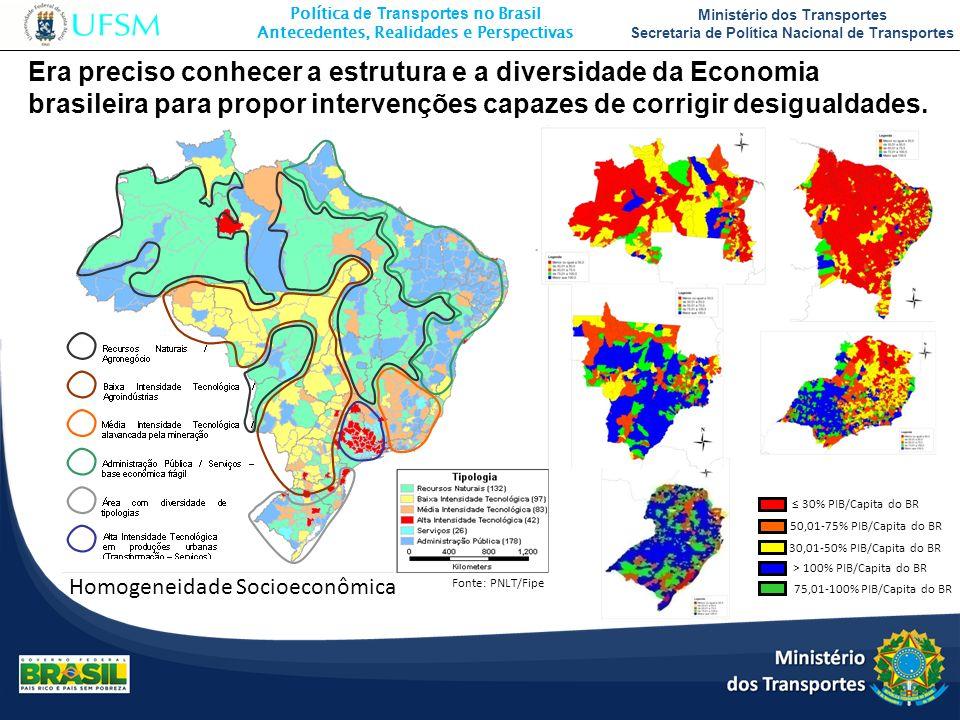 Era preciso conhecer a estrutura e a diversidade da Economia brasileira para propor intervenções capazes de corrigir desigualdades.