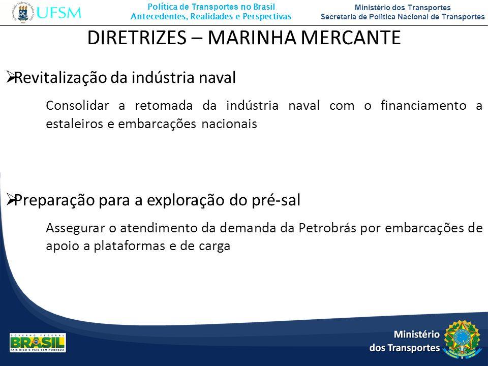 DIRETRIZES – MARINHA MERCANTE