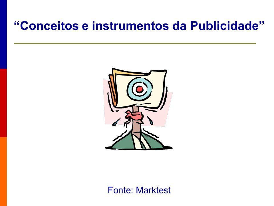 Conceitos e instrumentos da Publicidade