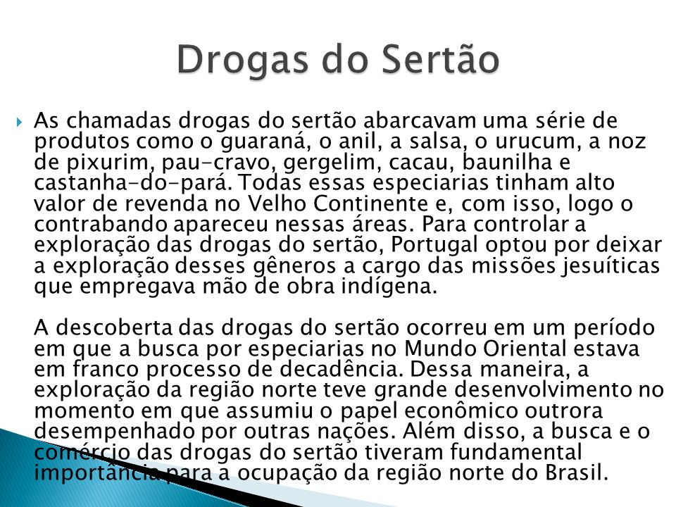 Drogas do Sertão