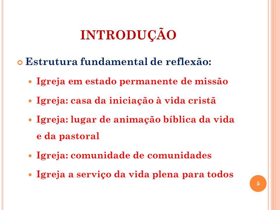 INTRODUÇÃO Estrutura fundamental de reflexão: