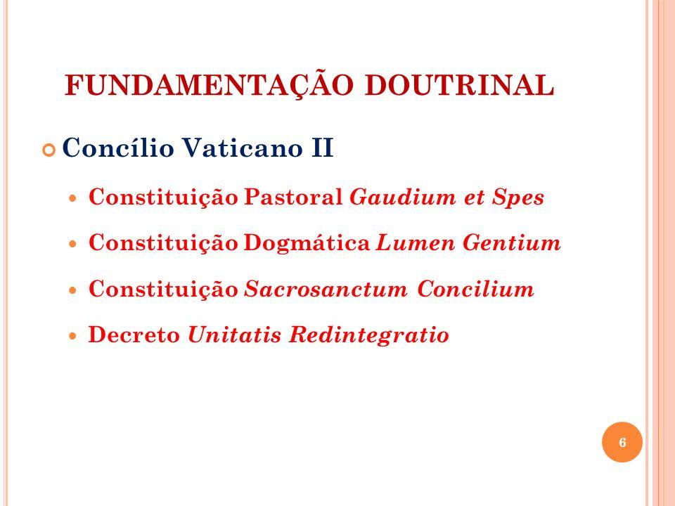 FUNDAMENTAÇÃO DOUTRINAL
