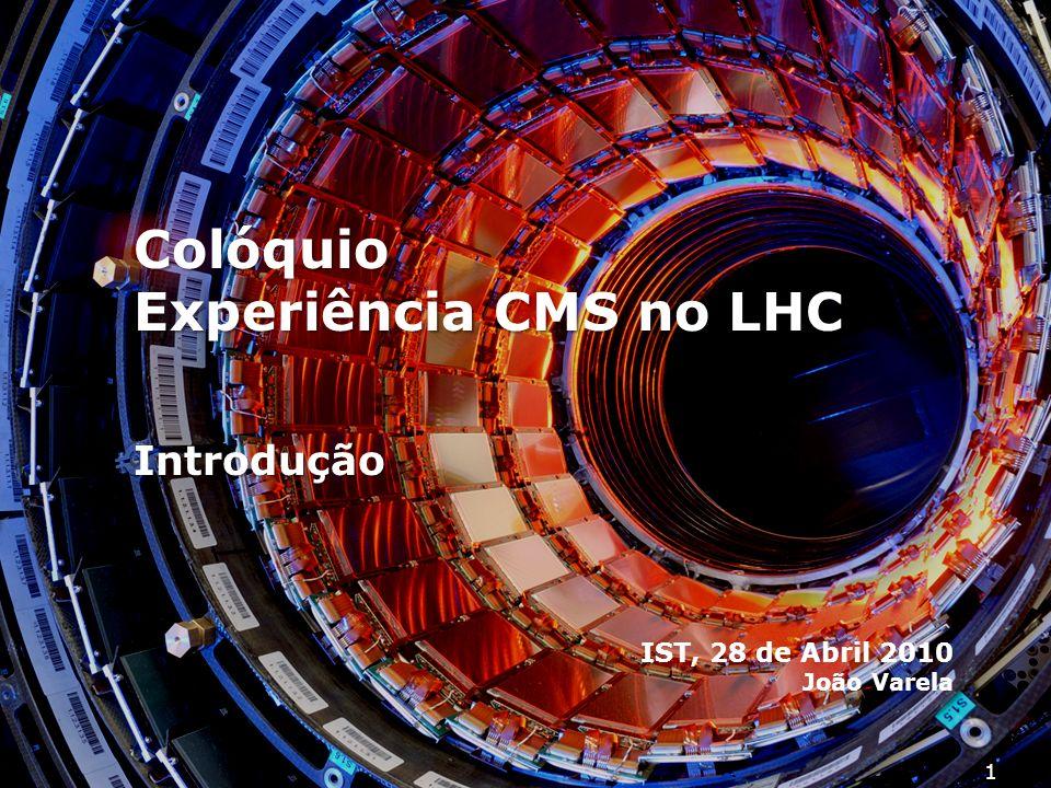 Colóquio Experiência CMS no LHC
