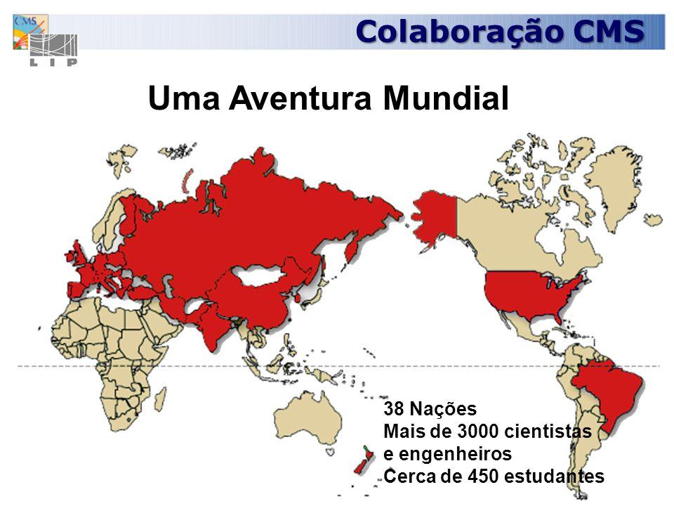 Uma Aventura Mundial Colaboração CMS 38 Nações