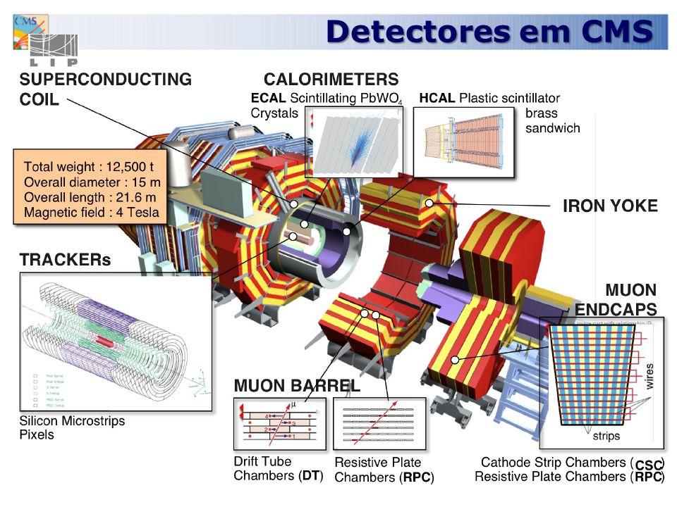 Detectores em CMS