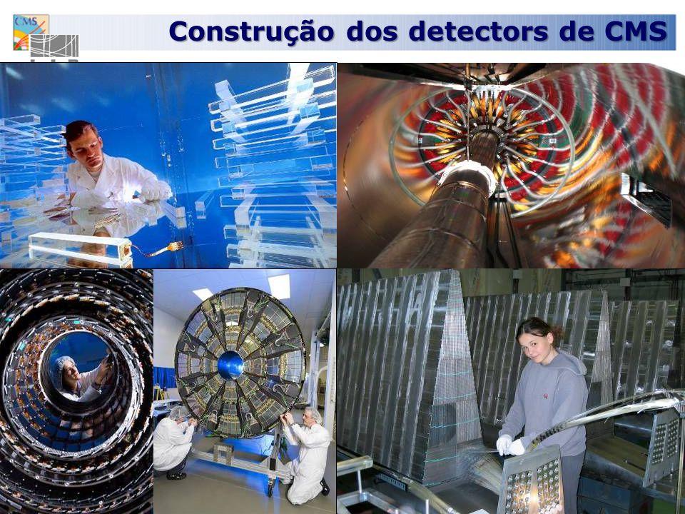 Construção dos detectors de CMS