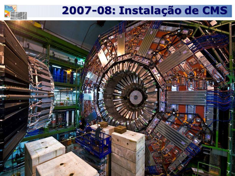 2007-08: Instalação de CMS