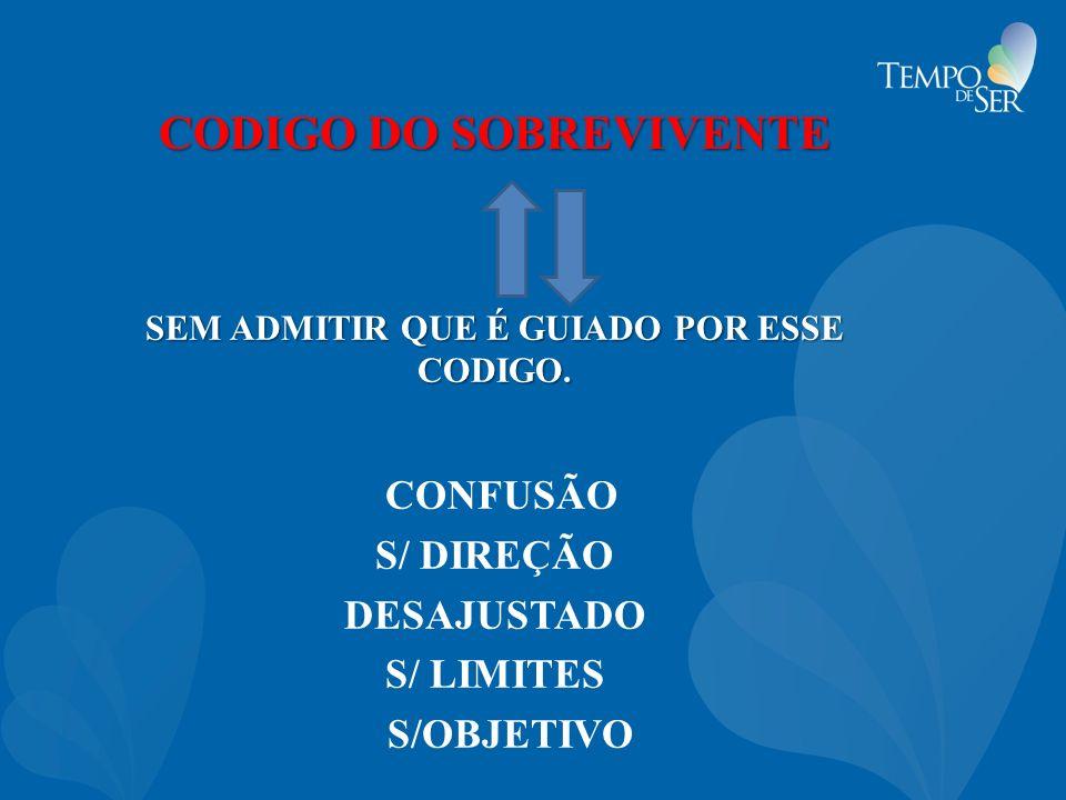 CODIGO DO SOBREVIVENTE