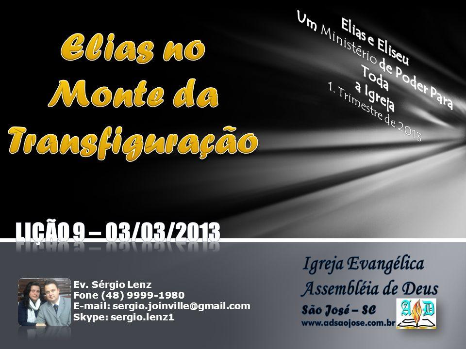 Elias no Monte da Transfiguração
