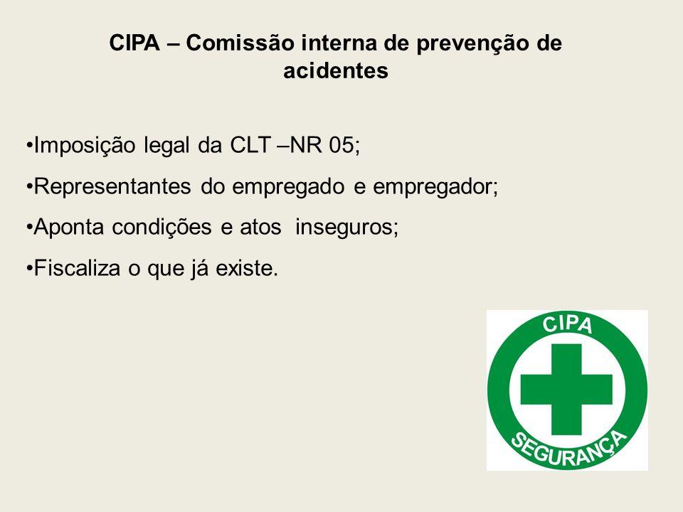 CIPA – Comissão interna de prevenção de acidentes