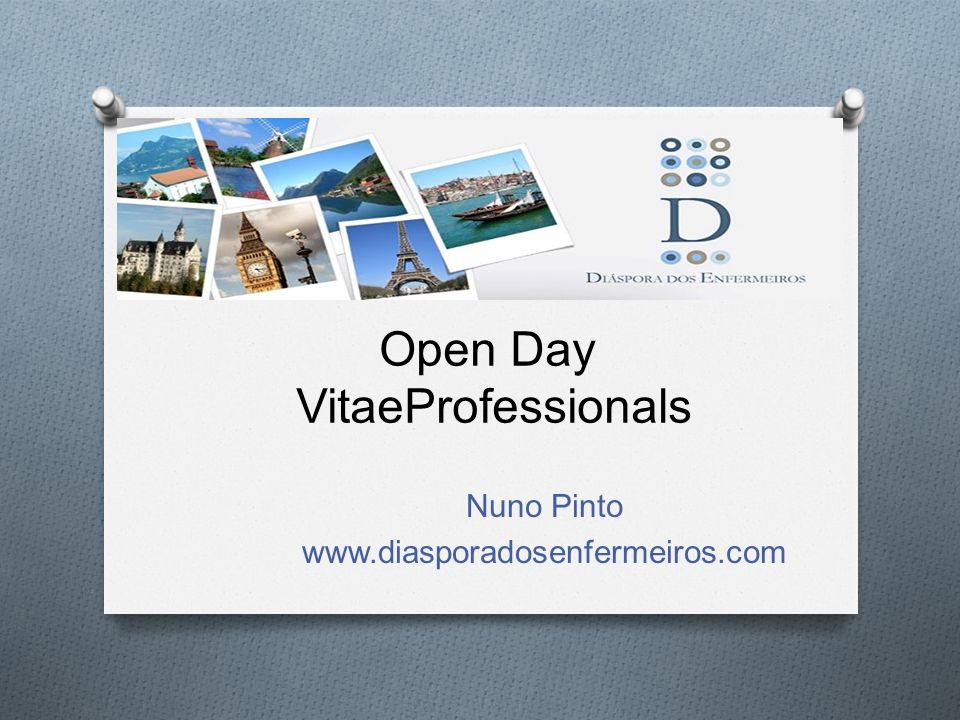 Open Day VitaeProfessionals