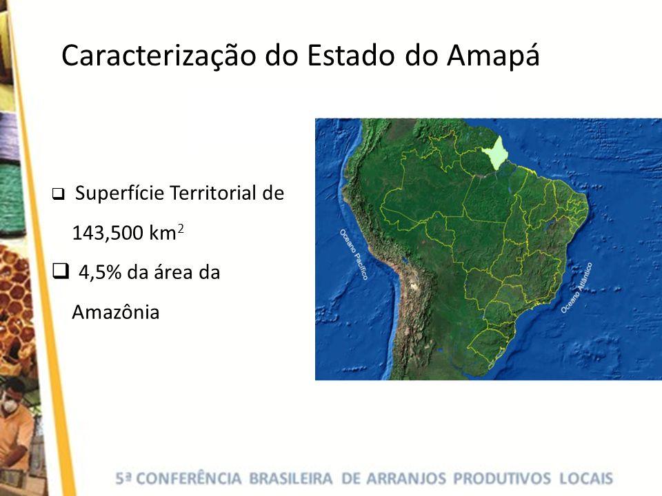 Caracterização do Estado do Amapá