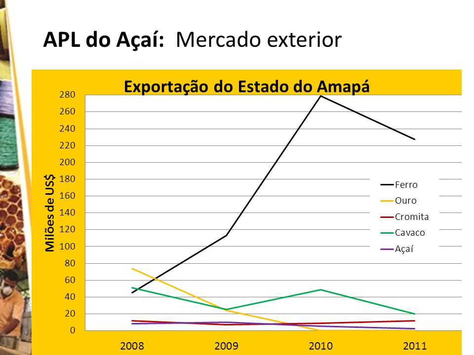 APL do Açaí: Mercado exterior