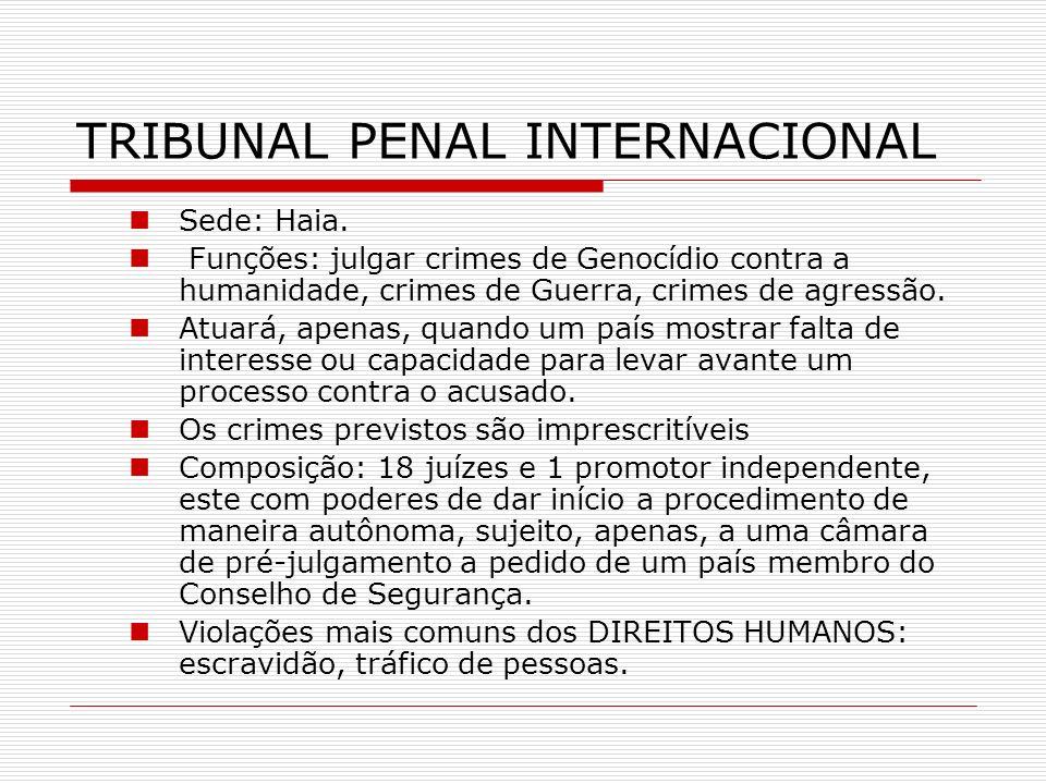 TRIBUNAL PENAL INTERNACIONAL