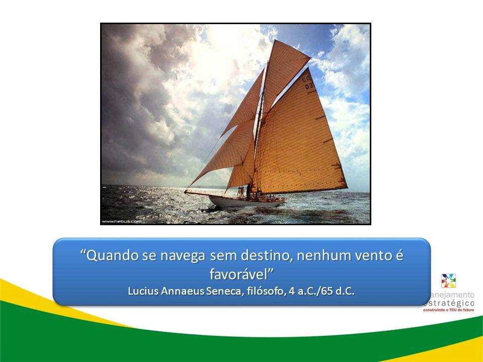 Quando se navega sem destino, nenhum vento é favorável