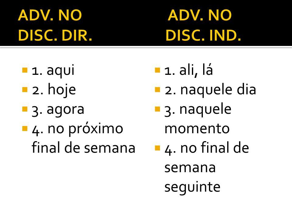 ADV. NO ADV. NO DISC. DIR. DISC. IND.