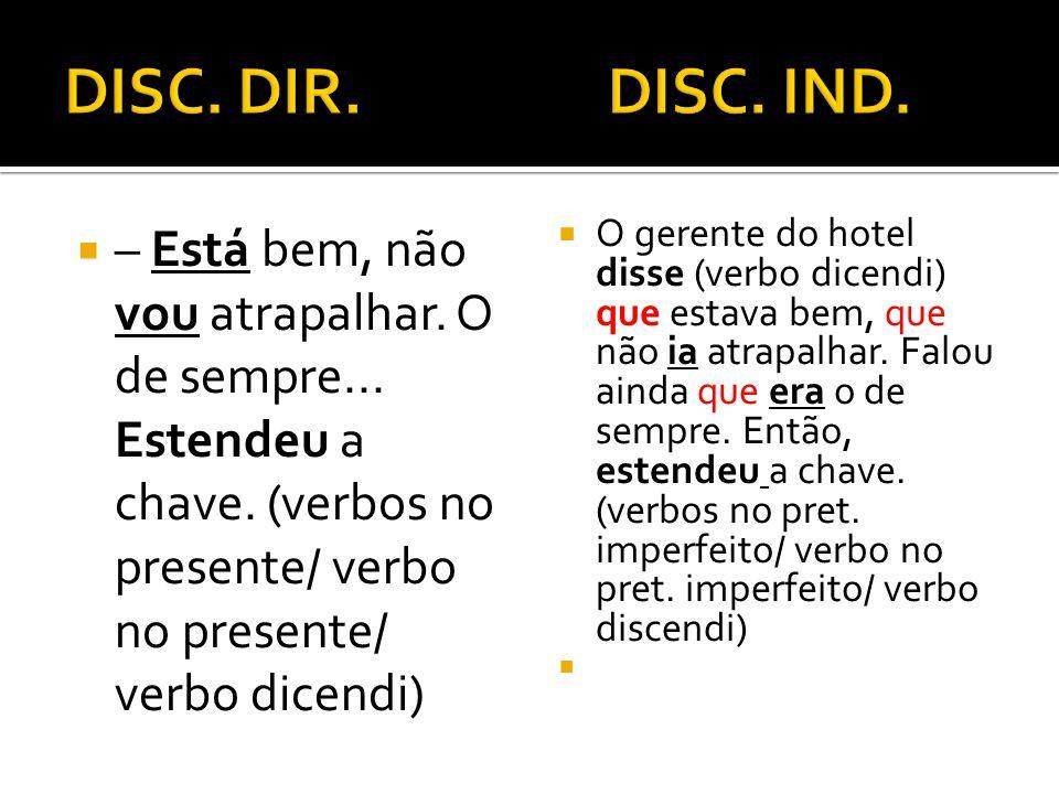 DISC. DIR. DISC. IND.
