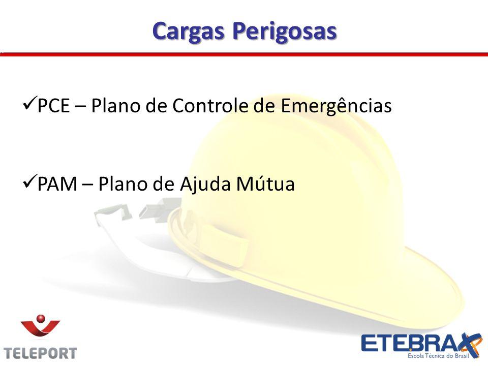 Cargas Perigosas PCE – Plano de Controle de Emergências