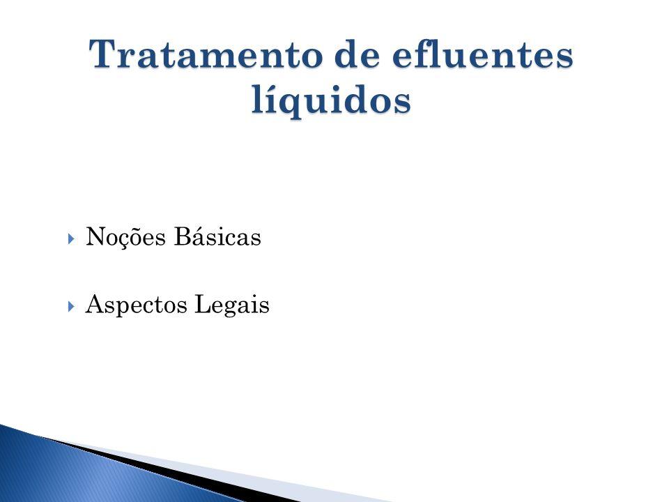 Tratamento de efluentes líquidos