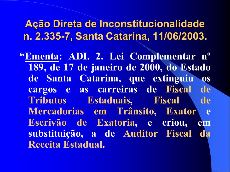 Ação Direta de Inconstitucionalidade n. 2
