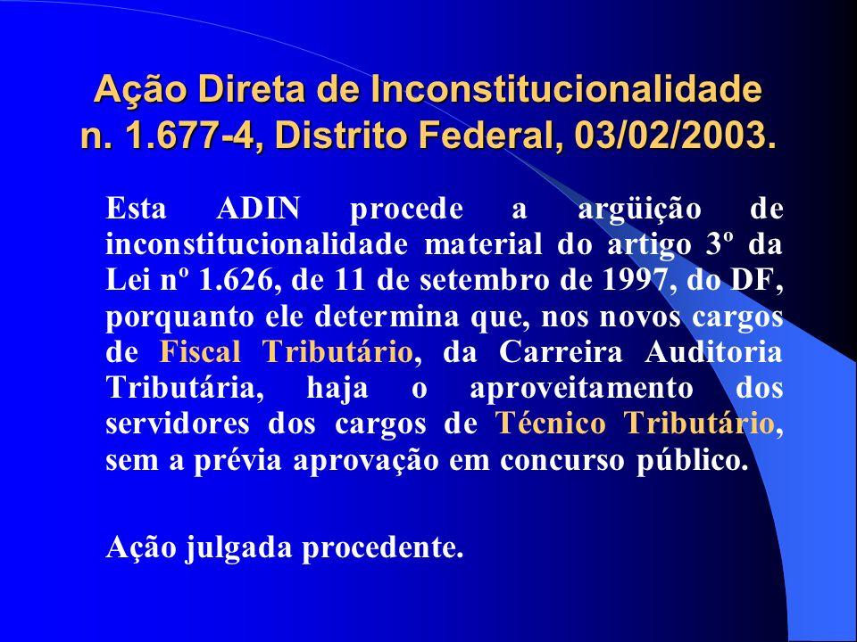 Ação Direta de Inconstitucionalidade n. 1