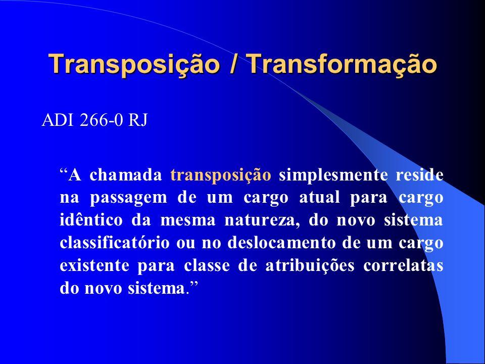 Transposição / Transformação
