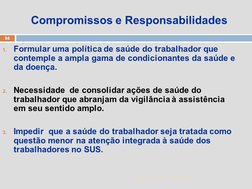 Compromissos e Responsabilidades