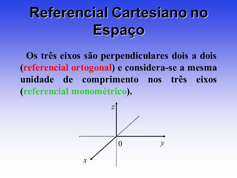Referencial Cartesiano no Espaço