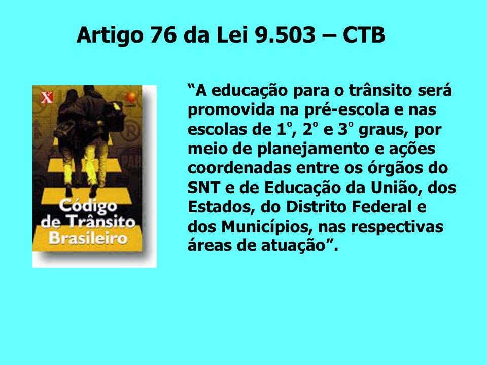 Artigo 76 da Lei 9.503 – CTB