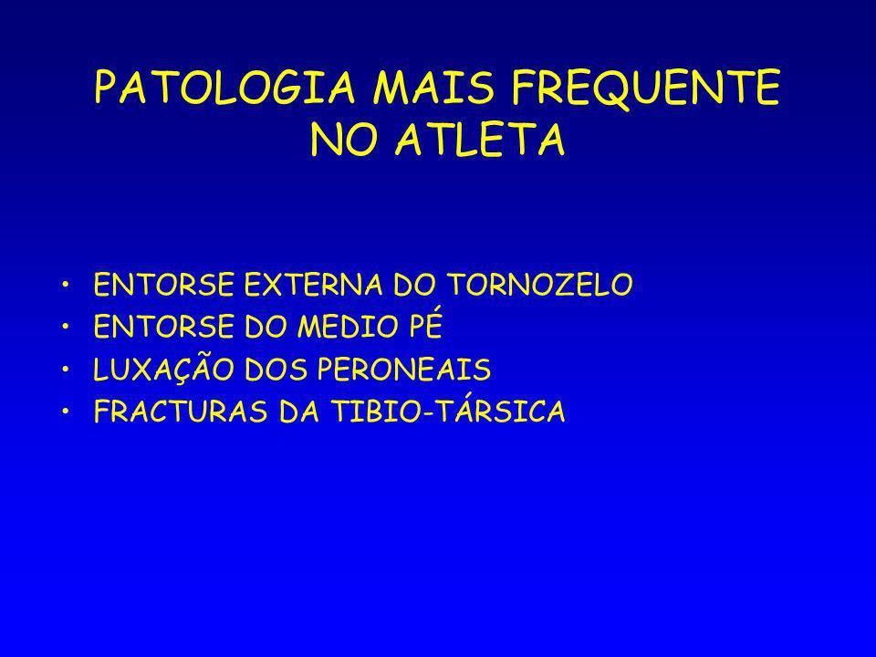 PATOLOGIA MAIS FREQUENTE NO ATLETA