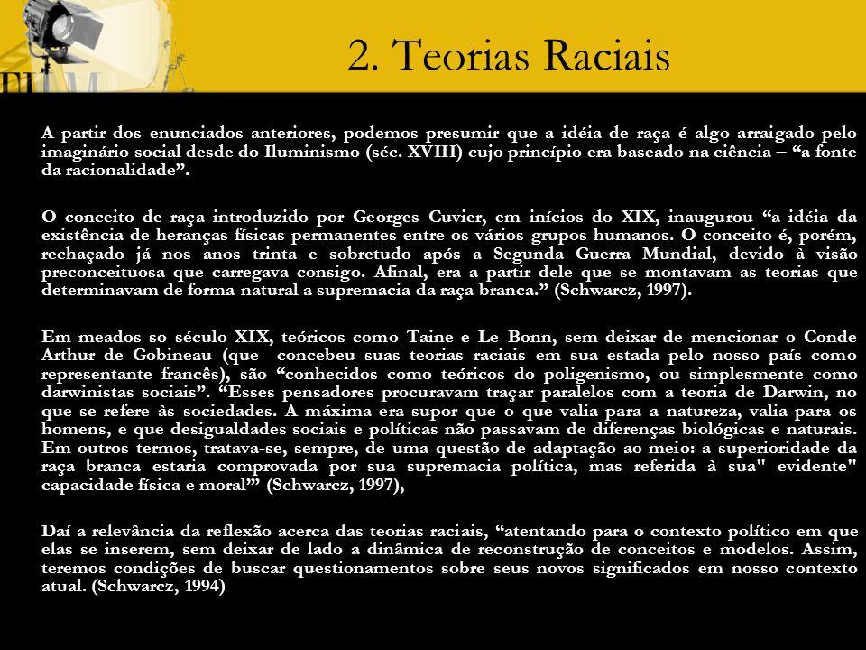 2. Teorias Raciais