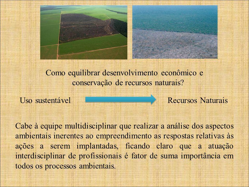Como equilibrar desenvolvimento econômico e conservação de recursos naturais