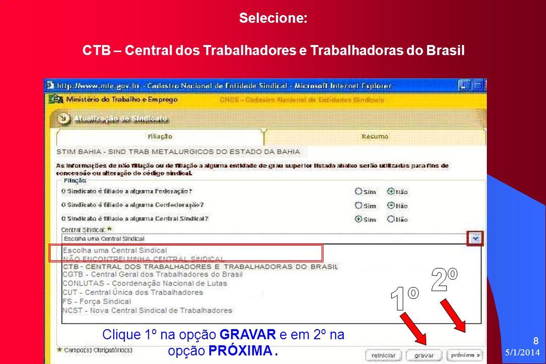 CTB – Central dos Trabalhadores e Trabalhadoras do Brasil