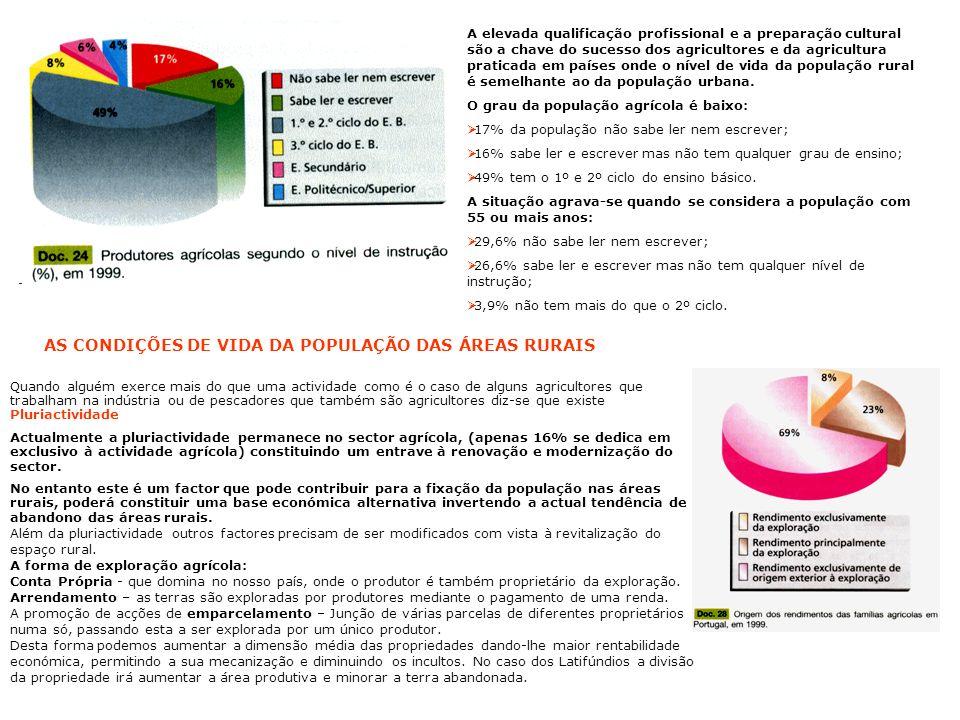 AS CONDIÇÕES DE VIDA DA POPULAÇÃO DAS ÁREAS RURAIS