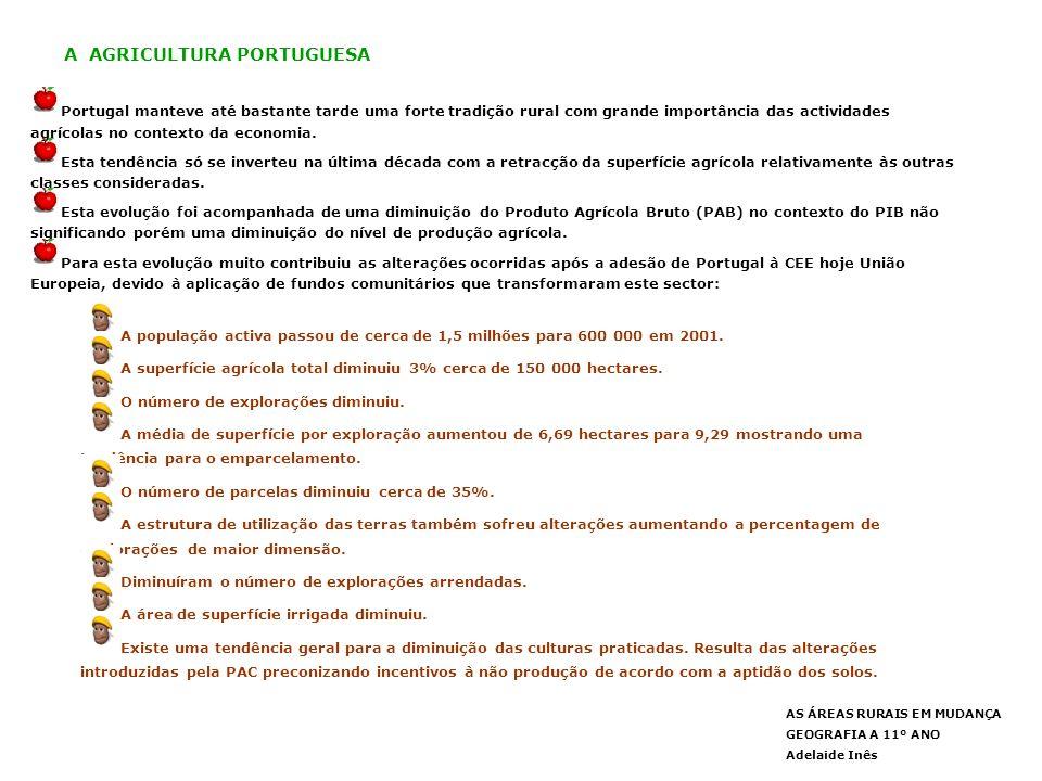 A AGRICULTURA PORTUGUESA