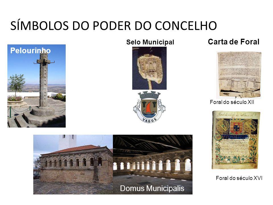 SÍMBOLOS DO PODER DO CONCELHO