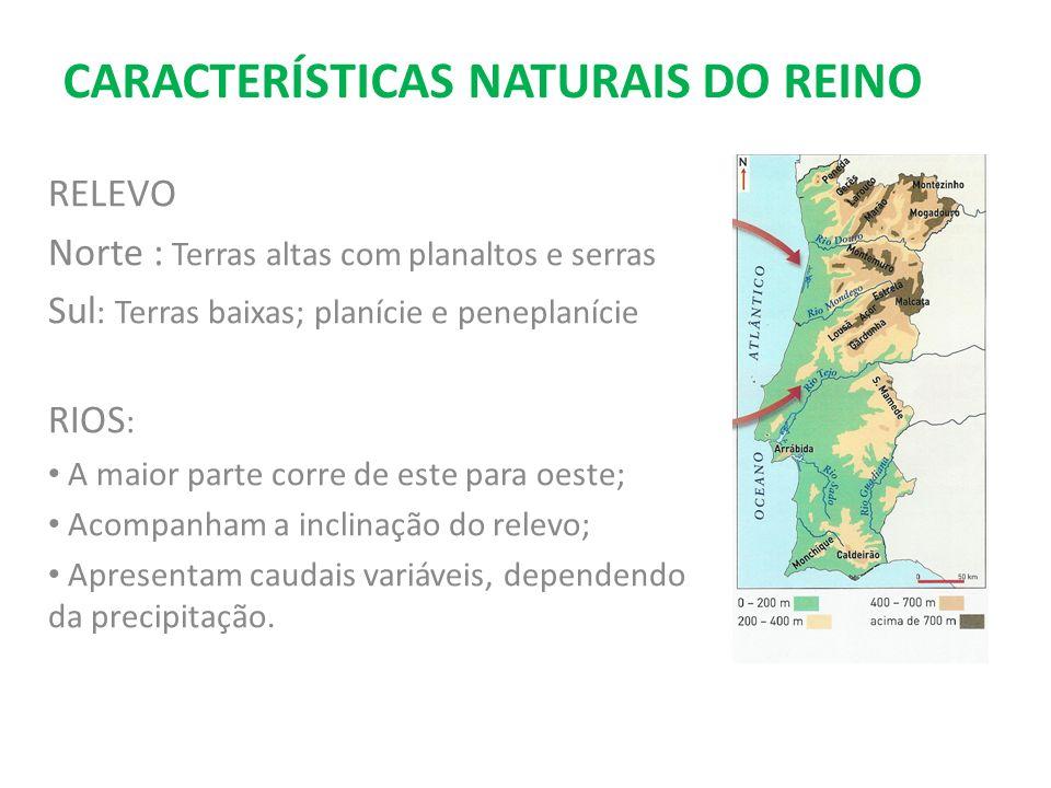 CARACTERÍSTICAS NATURAIS DO REINO