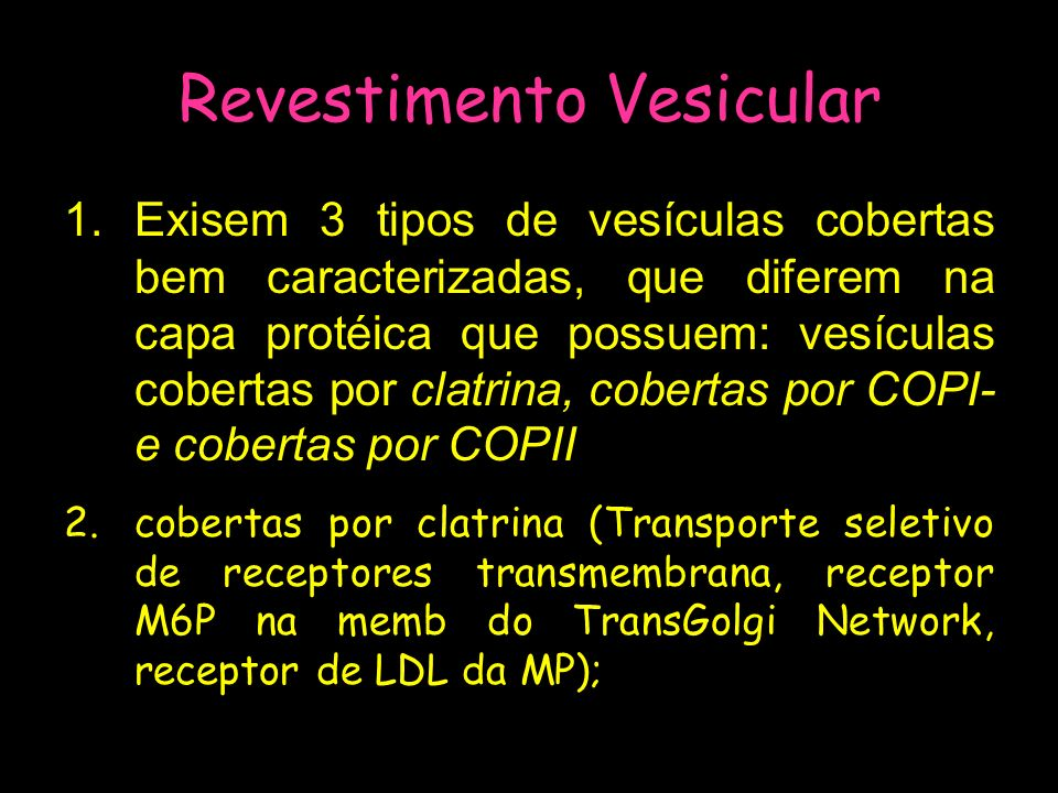 Revestimento Vesicular