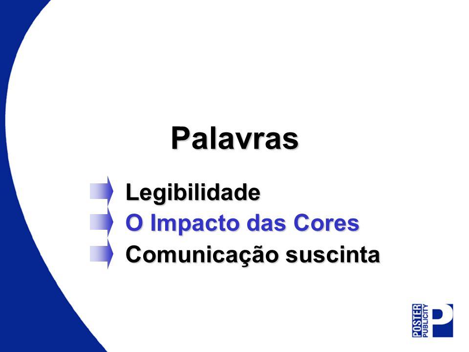 Palavras Legibilidade O Impacto das Cores Comunicação suscinta