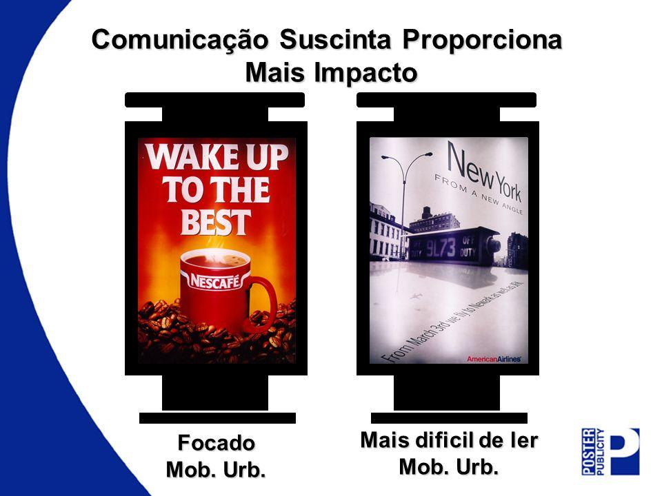 Comunicação Suscinta Proporciona