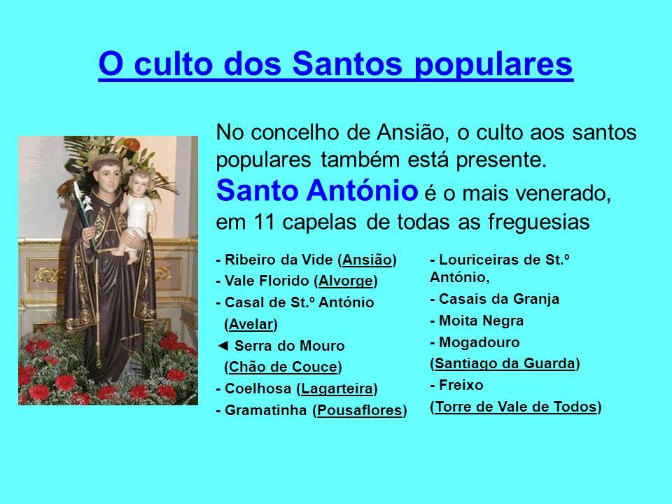 O culto dos Santos populares
