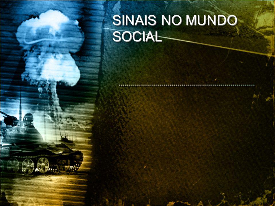 SINAIS NO MUNDO SOCIAL