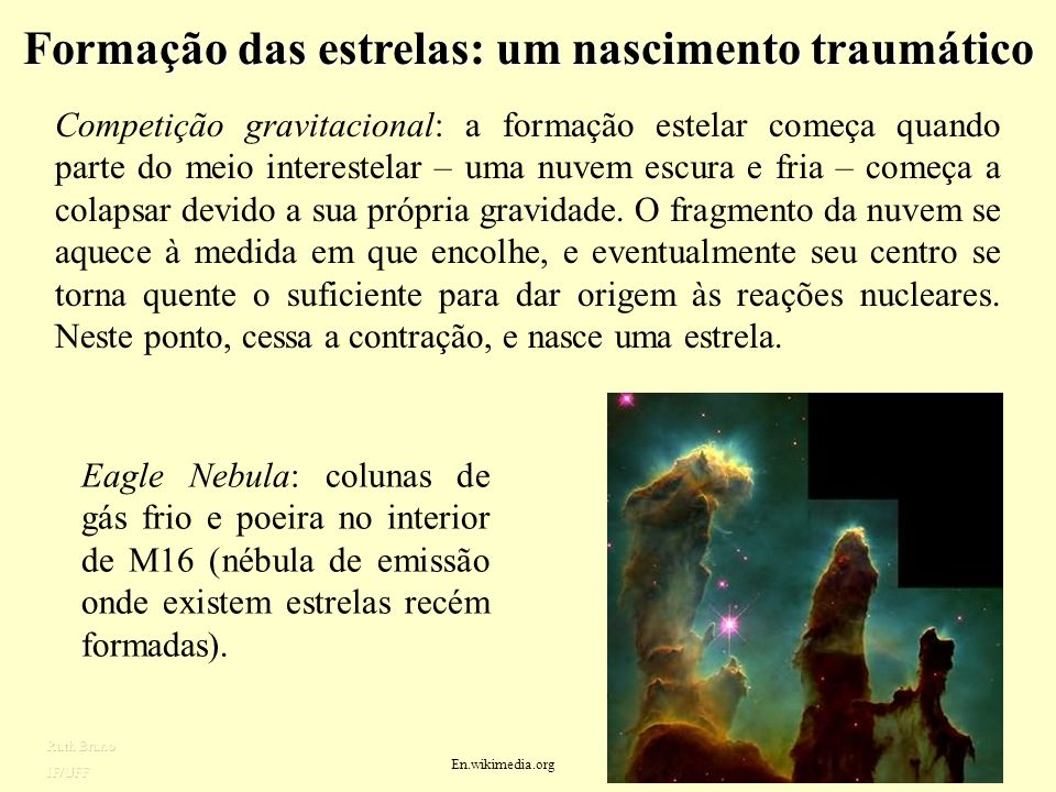 Formação das estrelas: um nascimento traumático
