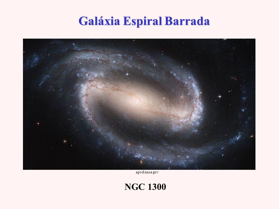 Galáxia Espiral Barrada