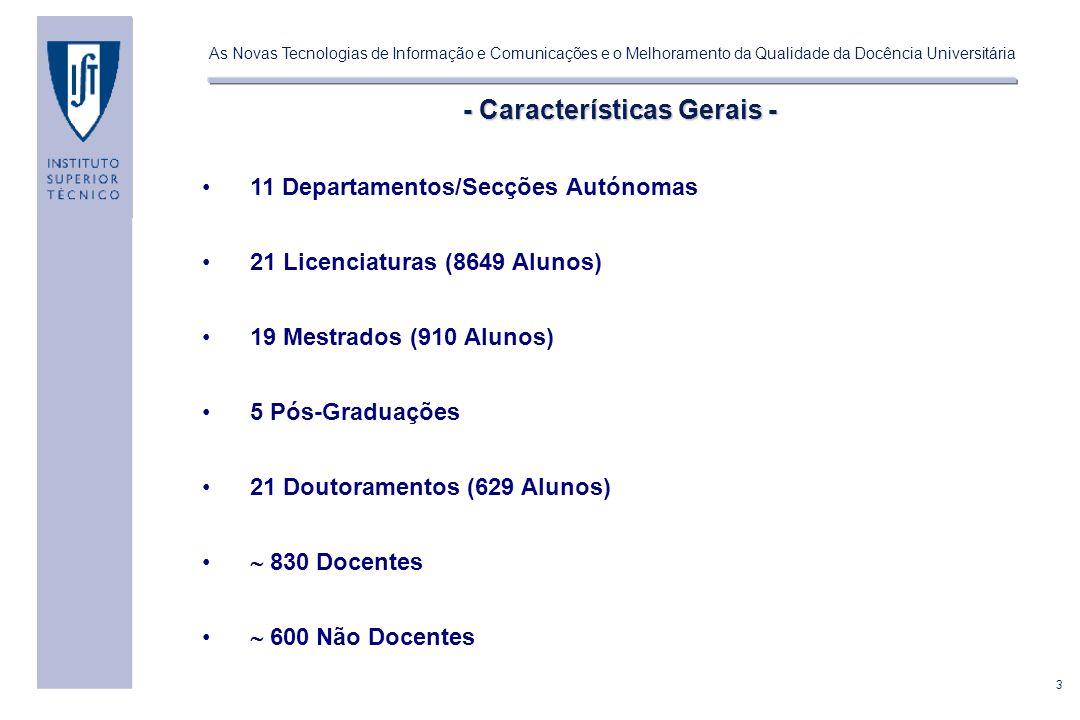 - Características Gerais -