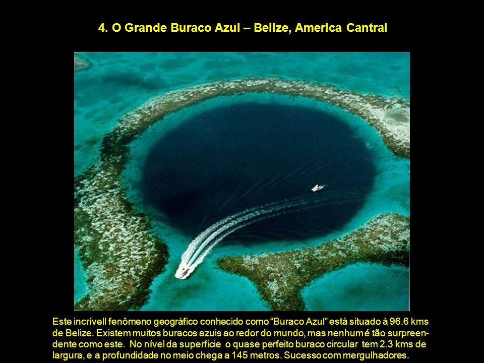 4. O Grande Buraco Azul – Belize, America Cantral